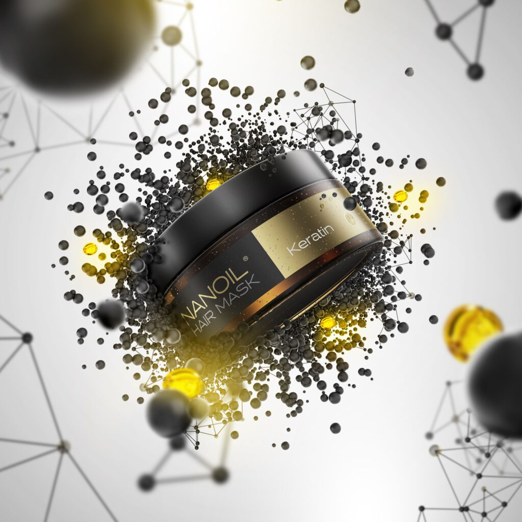 Nanoil - keratynowa maska do włosów